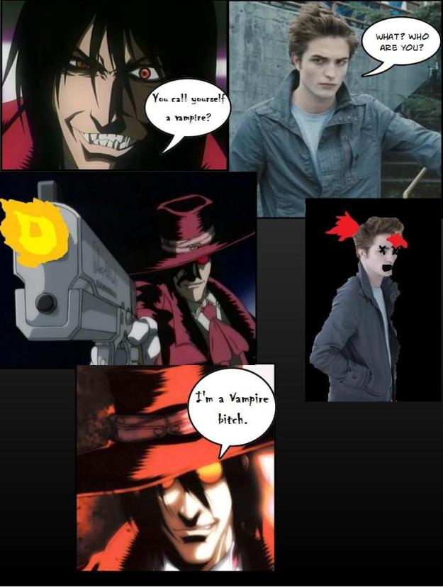 Edward meets Alucard
